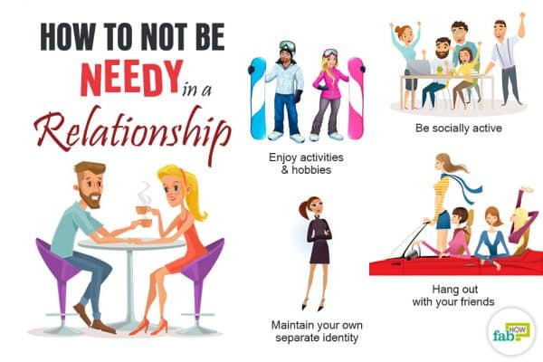 how to stop being needy in a relationship