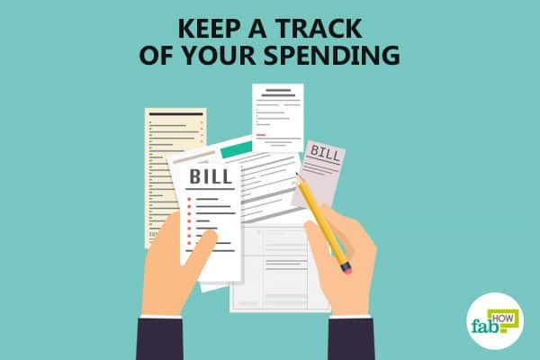 keep a track of your spending