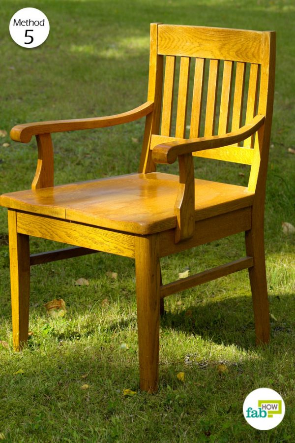 keep the furniture in sunlight