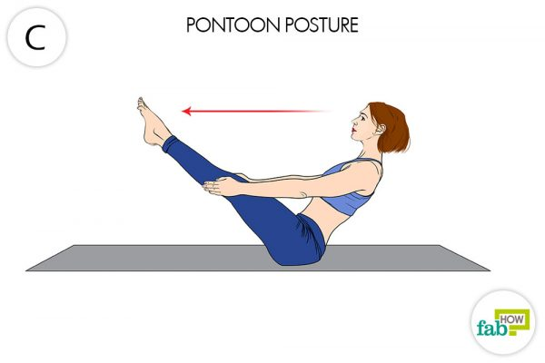 pontoon pose