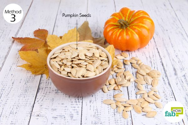 eat pumpkin seeds