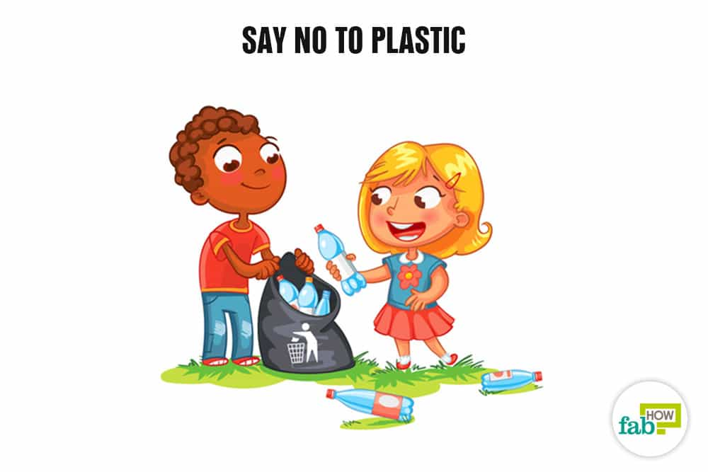 say no to plastic essays • manufacturing of plastic bags is harmful to the environment because nonrenewable resources are used (petroleum and natural gas) the manufacturing process itself uses toxic chemicals, pollutes the atmosphere and consumes energy.