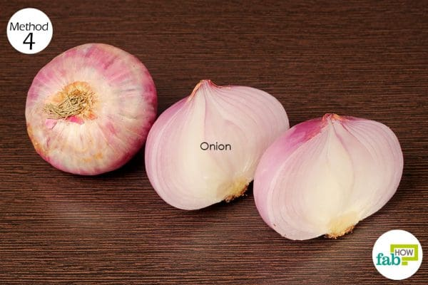eat something with red onions while drinking or next day