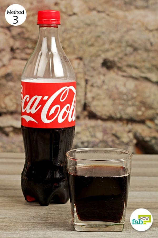have a glass of flat cola