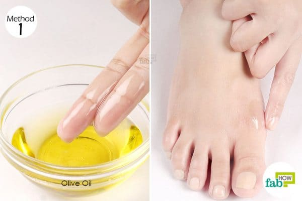 Massage with oil twice daily