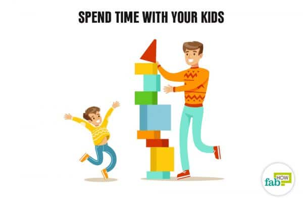 slow down and spend time with your kids