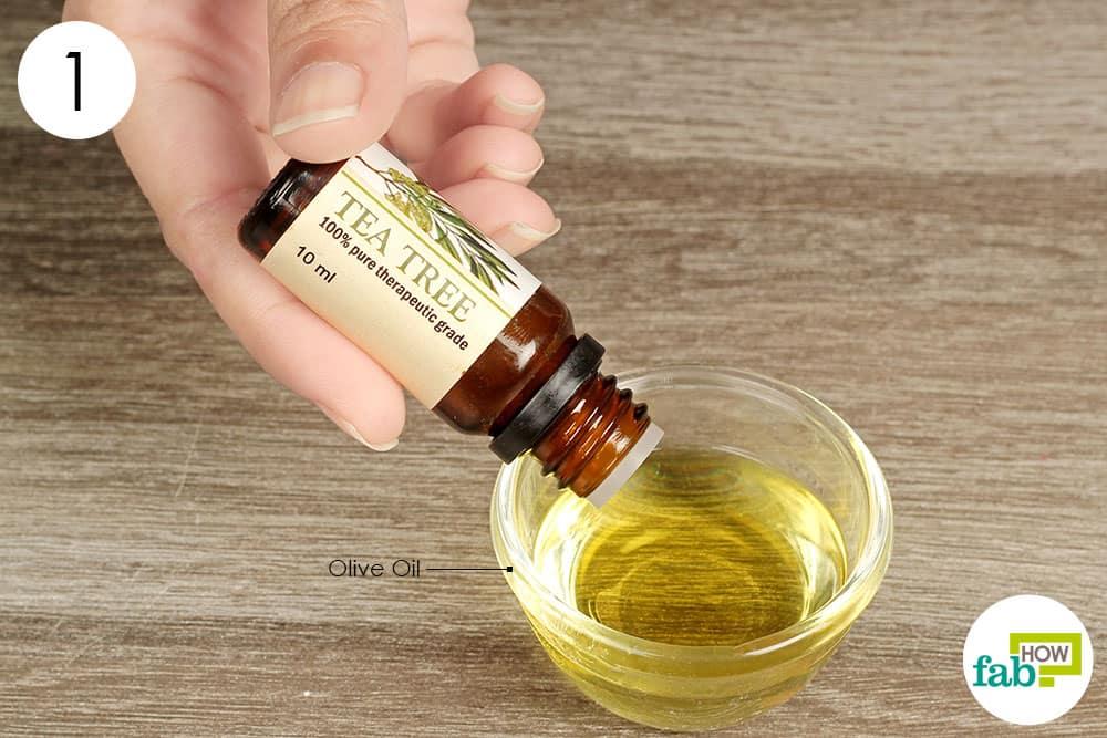 Nail Polish With Tea Tree Oil Yellow - AccessoryWiz