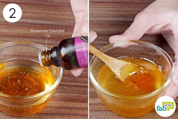 add rosemary oil