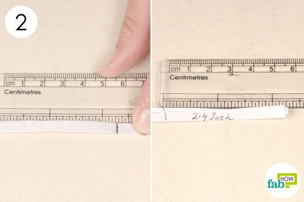 measure the length of marking