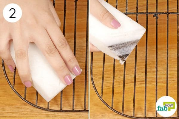 use it to clean the dirty surfaces of grill