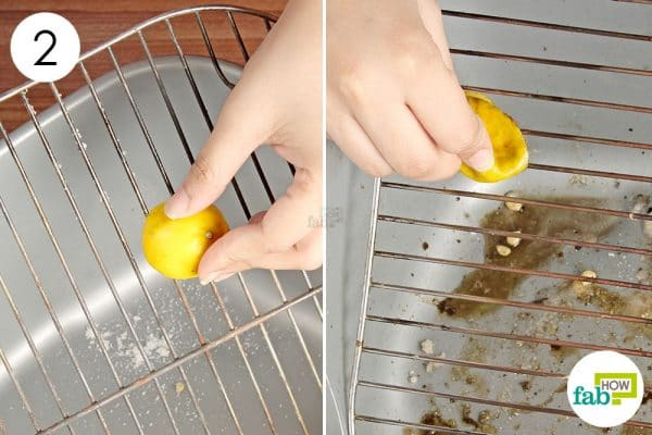 scrub the grill