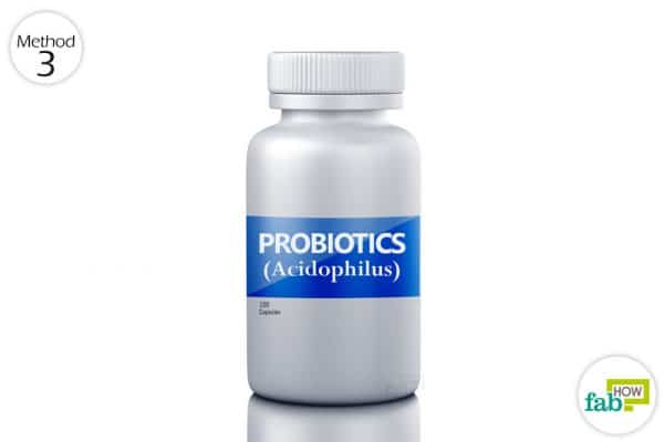 Swish and swallow probiotics every day