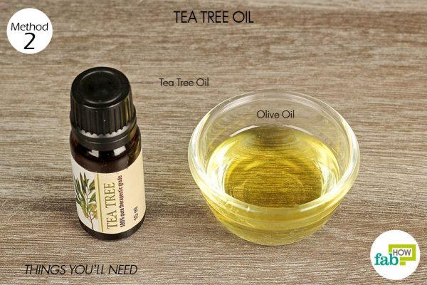 things you'll need using tea tree oil