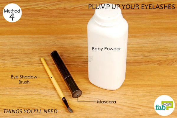 things you'll need to plump up eyelashes