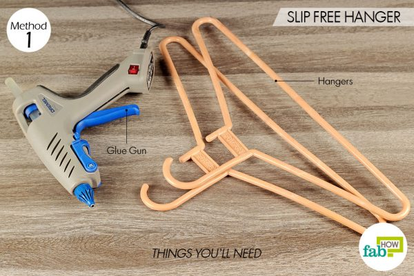 things you'll need for slip-free hanger