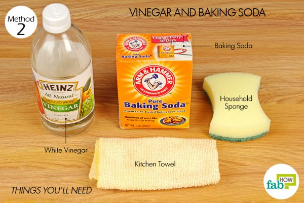 things you'll neeed to clean BBQ grill with baking soda