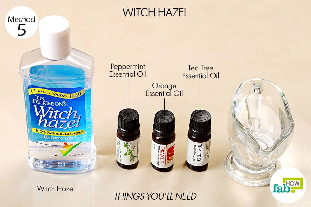 Essential Oil Stain Remover Spray