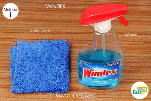 things you'll need to use windex to get cigarette smell out of windows