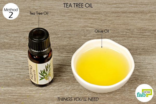things you'll need to use tea tree oil to get rid of blepharitis
