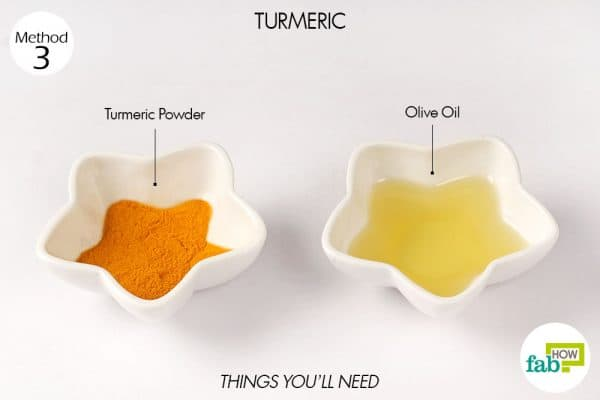 things you'll need to use turmeric to get rid of bunions