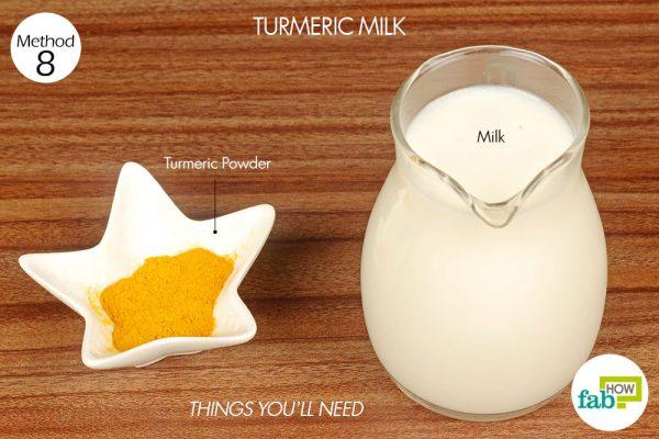 things you'll need to make turmeric milk