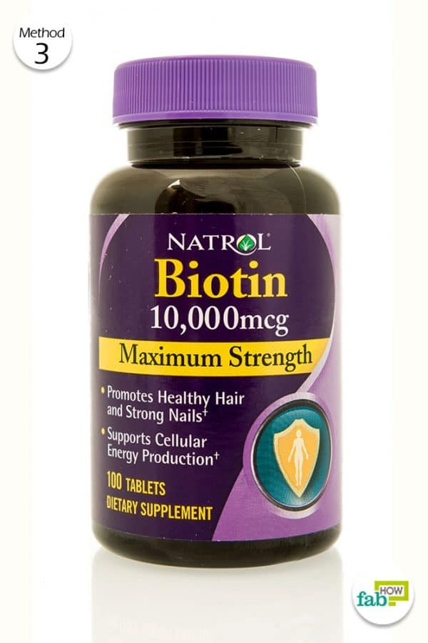 take biotin supplements to grow nails