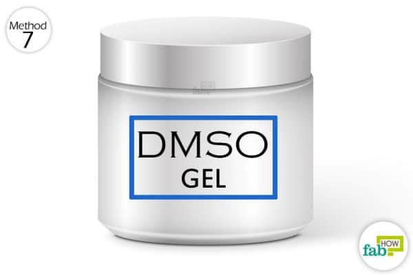 use DMSO gel