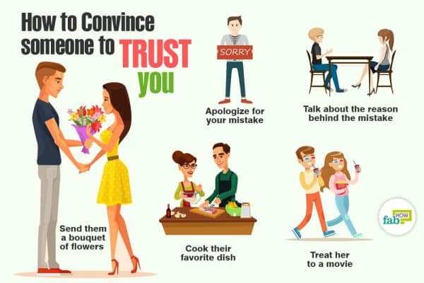 How to win back trust
