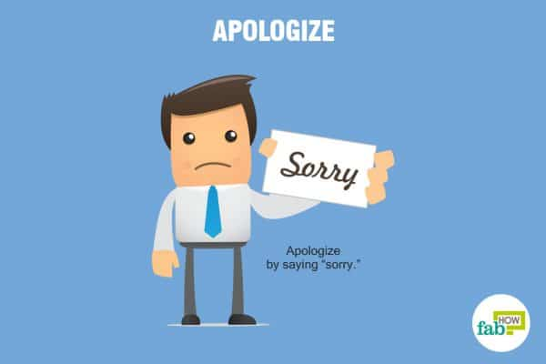 apologize to earn respect from others