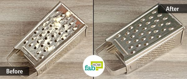 DIY cleaning hack to remove any residue from your cheese grater