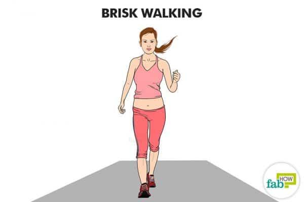 brisk walk to reverse diabetes