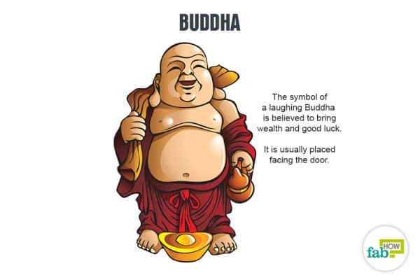 Keep an idol of laughing Buddha in your home to get rid of bad luck