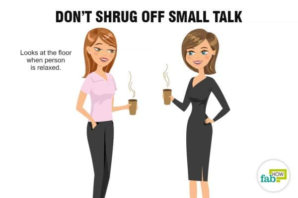 small talks can help you read people better