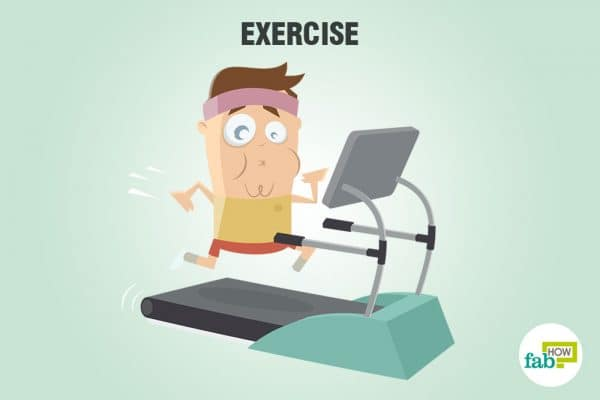 exercise to sober up fast