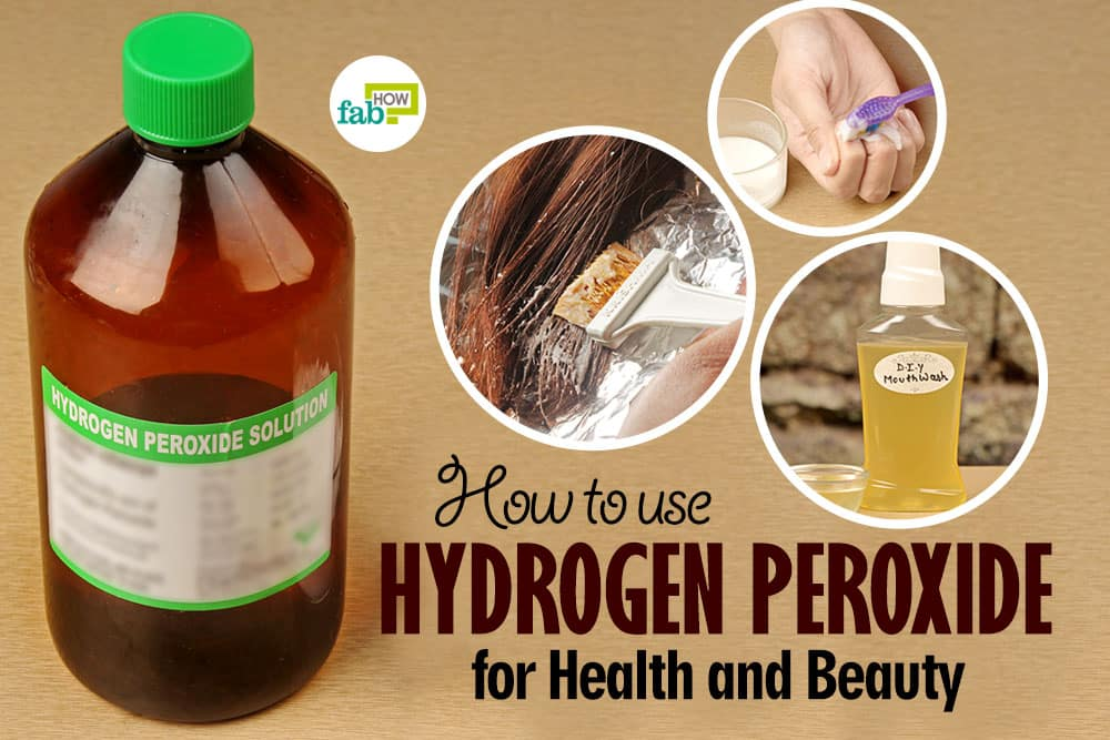 feat how to use hydrogen peroxide for health and beauty