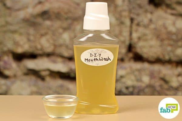 final DIY mouthwash for bad breath using hydrogen peroxide