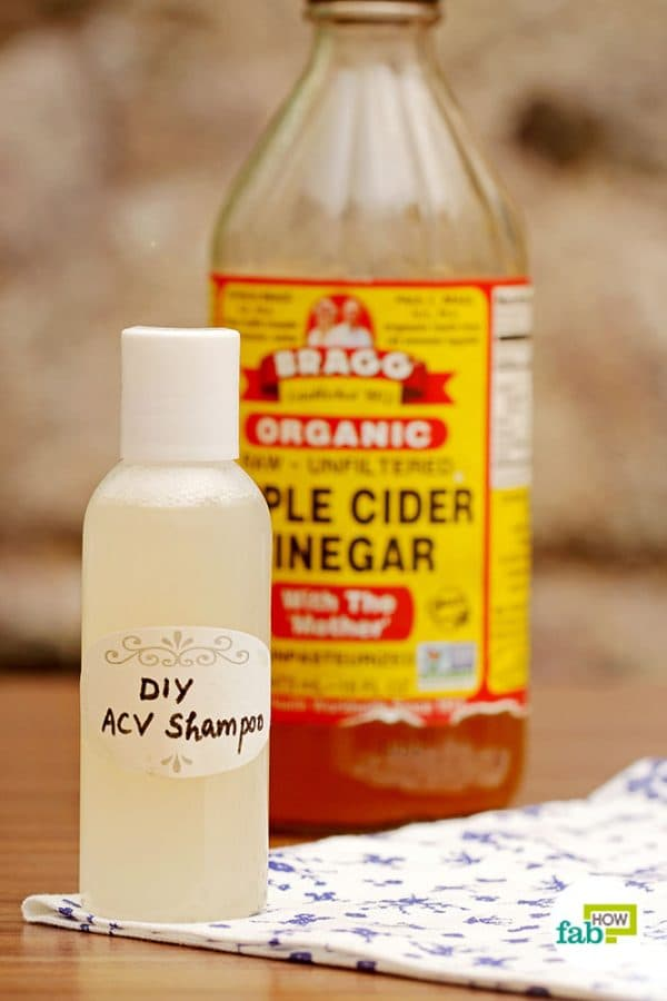Make your own chemical-free shampoo using apple cider vinegar