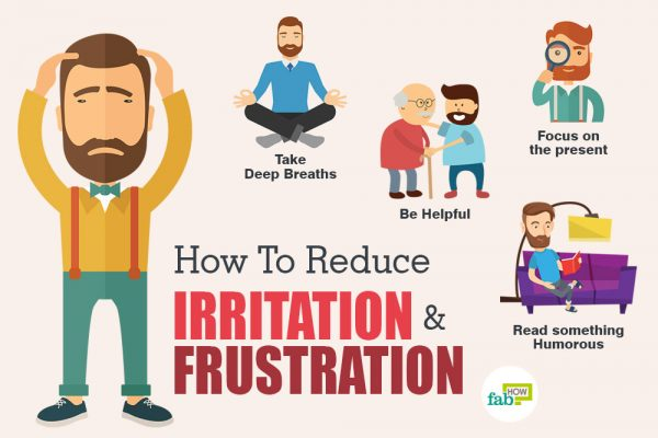 ways to deal with frustration and irritation