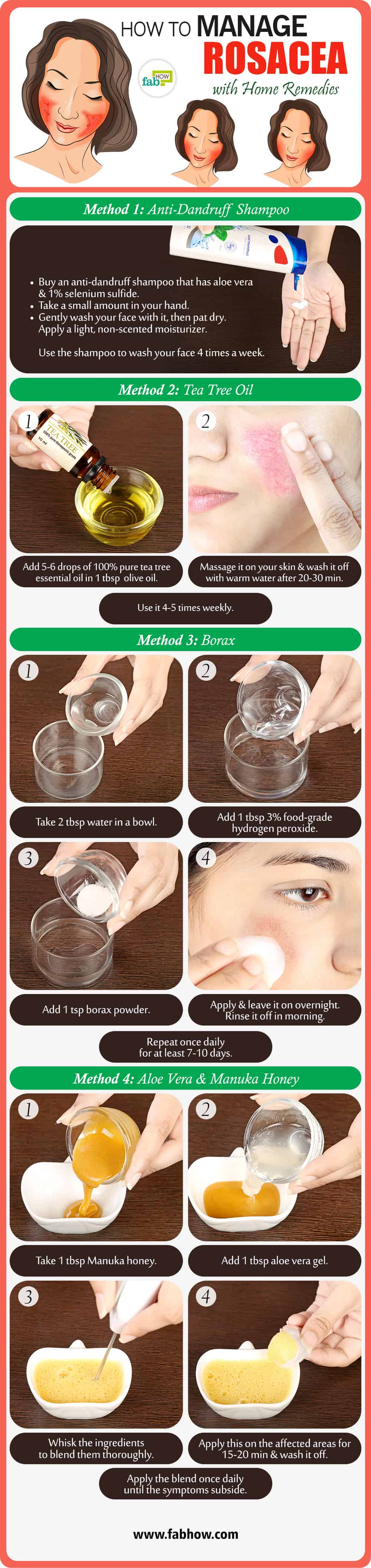 how to get rid of rosacea with top 10 home remedies fab how