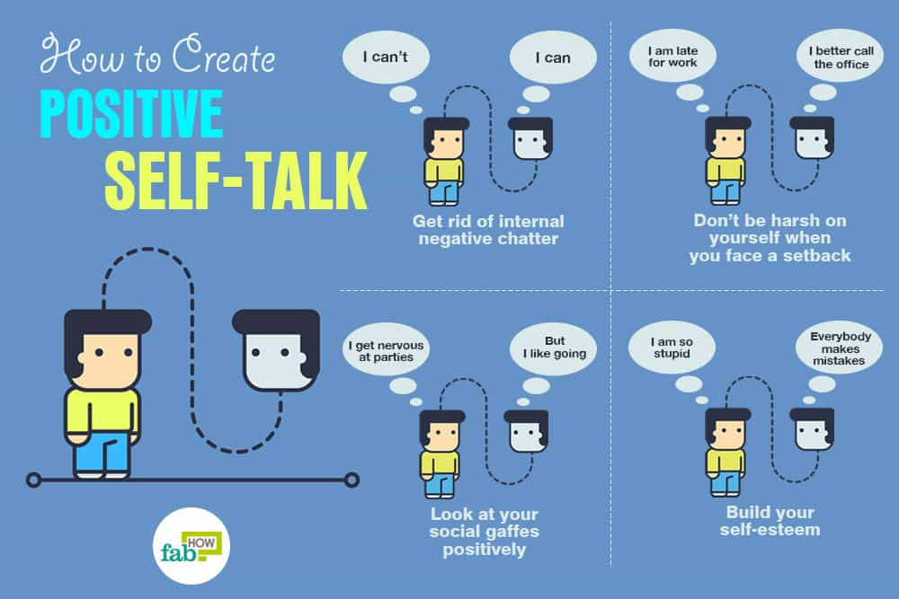 How to Create Positive Self-Talk for a Can Do Attitude