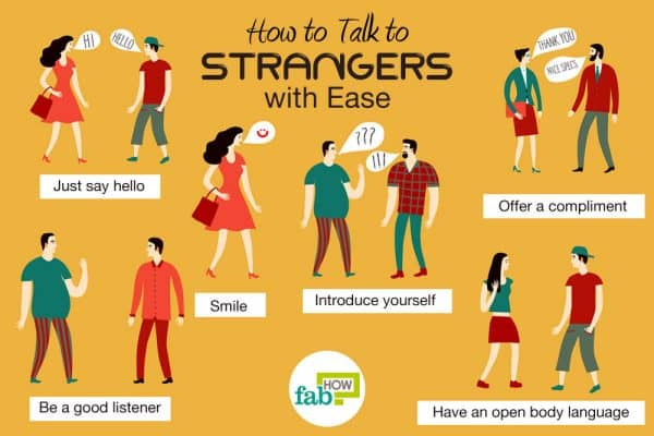 different ways to talk to a stranger