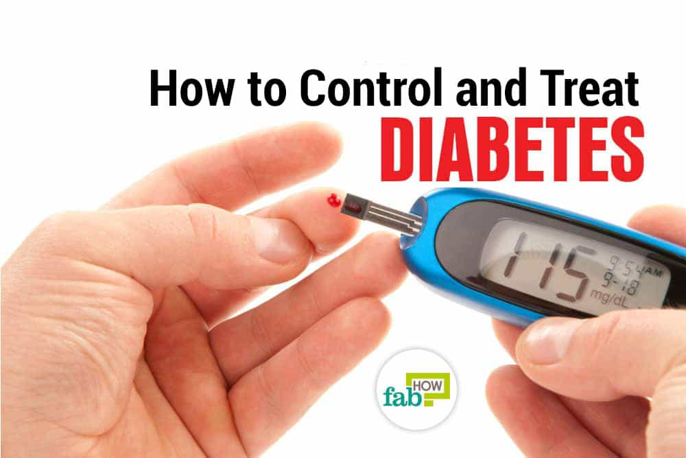 how to treat and control diabetes