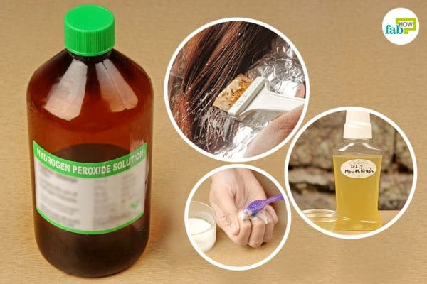 Multiple uses of hydrogen peroxide for health and beauty