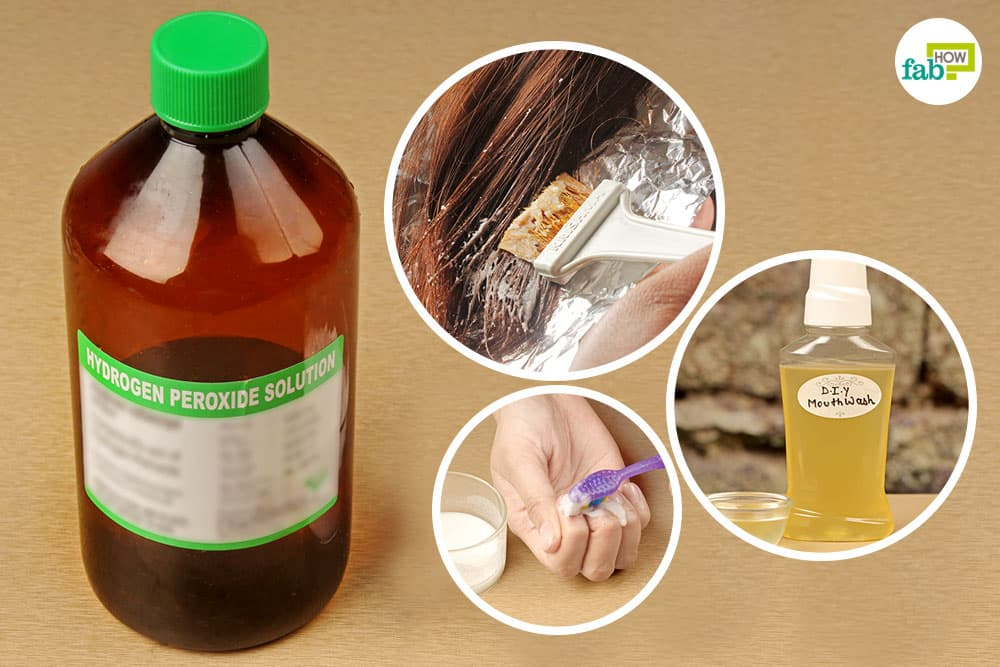How To Use Hydrogen Peroxide For Skin Teeth Hair And Ears Fab How