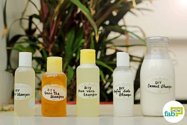 Make DIY chemical-free shampoos at home