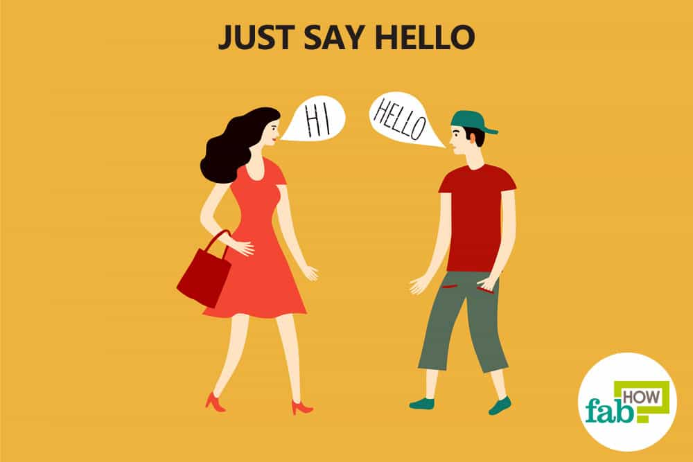 how to say hello to a girl