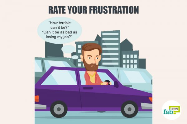 rate your frustration to deal with frustration and irritation