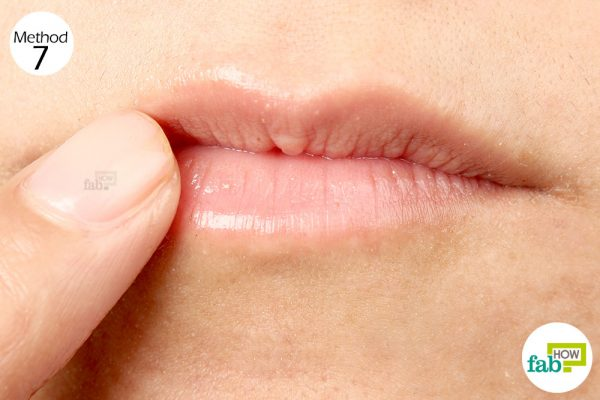 Rub some castor oil over your lips to keep them well-moisturized and smooth