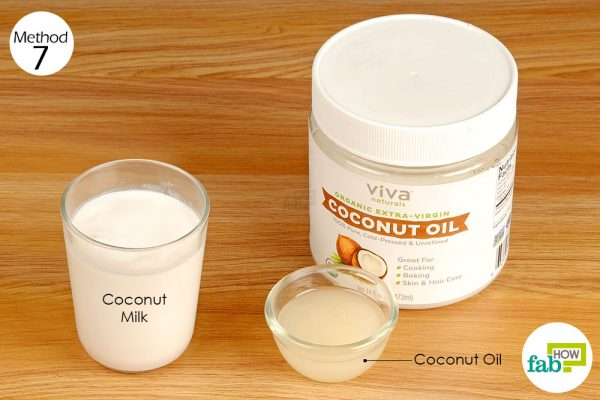 consume coconut oil to get rid of stomach ulcers