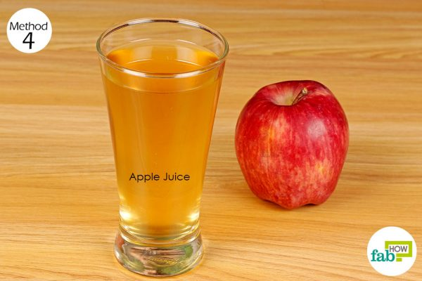 Drink fresh apple juice 4 times daily to get rid of gallstones